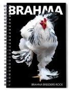 Brahma Breeders Rock T-shirt Print Spiral Notebook