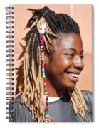 Braided Lady Spiral Notebook