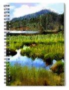 Brainard Lake Rocky Mountain National Park Spiral Notebook