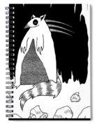 Brains Brewing Noon Raccoon Design By Warwickart Spiral Notebook