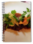 Braised Beef With Vegetables Spiral Notebook