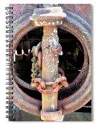 Brake Chain Spiral Notebook