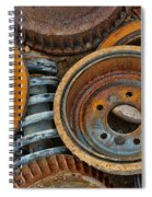Brake Drums - Disc Brakes - Shock Assembly Spiral Notebook