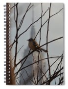 Branch With A View Spiral Notebook