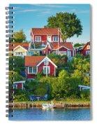 Brandaholm Cottages Spiral Notebook