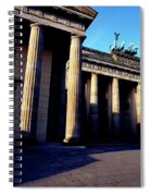Brandenburger Tor / Gate Berlin Germany Spiral Notebook