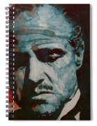 The Godfather-brando Spiral Notebook