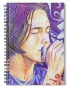 Brandon Boyd Spiral Notebook