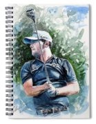 Branden Grace Watercolor Spiral Notebook