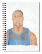 Brandon Roy Spiral Notebook