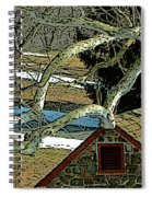 Brandywine Springhouse Spiral Notebook