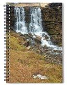 Branson Waterfall 4 Spiral Notebook
