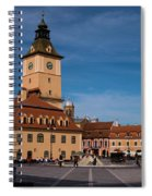 Brasov Council Square Spiral Notebook