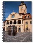 Brasov Town Hall Spiral Notebook
