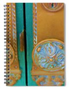 Brass Is Green Spiral Notebook