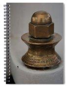 Brass Nut Spiral Notebook