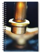 Brass Water Spiral Notebook