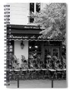 Brasserie Early Morning Spiral Notebook