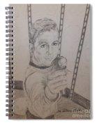 Brave Kirk Spiral Notebook