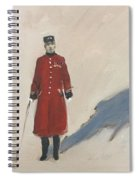 Bravery Has A Shadow - The Chelsea Pensioner  Spiral Notebook