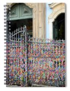 Brazilian Wish Ribbons Spiral Notebook