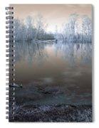 Brazos Bend Winter Fantasy Spiral Notebook