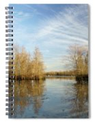 Brazos Bend Winter Reflections Spiral Notebook