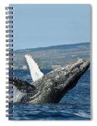 Breach Near Maui I Spiral Notebook