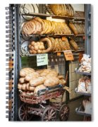 Breads For Sale Spiral Notebook