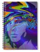Break On Through Two Spiral Notebook