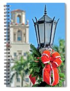 Breakers At Christmas Spiral Notebook