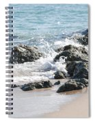 Breakers Spiral Notebook