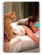 Breakfast At Tiffany's 4 Spiral Notebook