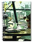 Breakfast Coffee Table Spiral Notebook