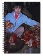 Breakfast In China Spiral Notebook