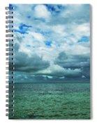 Breaking Clouds In Key West, Florida Spiral Notebook