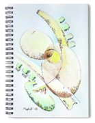 Breaking The Egg Spiral Notebook