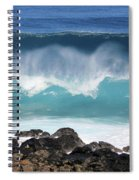 Breaking Waves Spiral Notebook