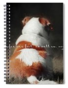 Breaktime Quote Spiral Notebook
