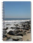 Breakwaters Spiral Notebook