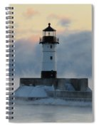 Winter's Breath Spiral Notebook