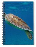 Breathe Green Spiral Notebook