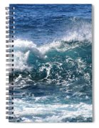 Breathe Like Water Kashmir Blue Sapphire Spiral Notebook