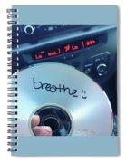 Breathe Mix Cd Spiral Notebook