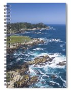 Breathtaking Blues Spiral Notebook