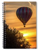Breathtaking Hot Air Spiral Notebook