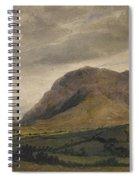 Breidden Hill In The Welsh Borders Spiral Notebook