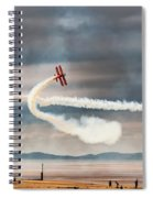 Breitling Wingwalker Biplanes Spiral Notebook