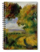 Breton Landscape Trees And Moor 1892 Spiral Notebook