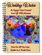 Brian Exton Forever In Love  Bigstock 164301632  2991949 Spiral Notebook